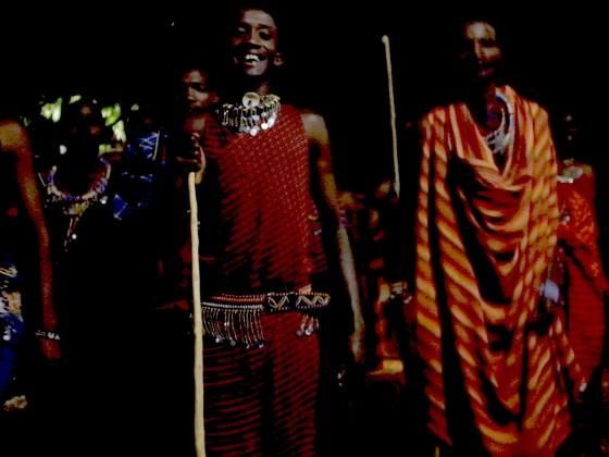 Die Tänze der Masai