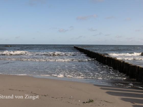 Am Strand von Zingst