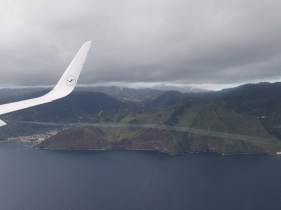 Anflug auf Funchal II