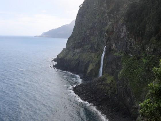 Wasserfall bei Seixal