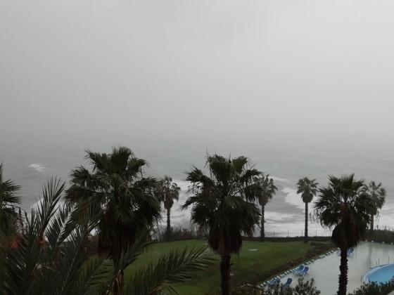 Sturm über Madeira