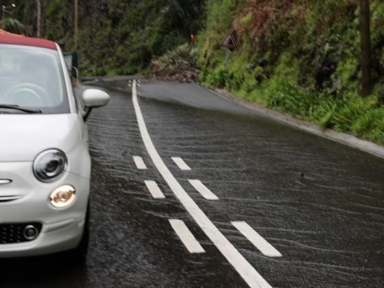 Wenn es auf Madeira regnet