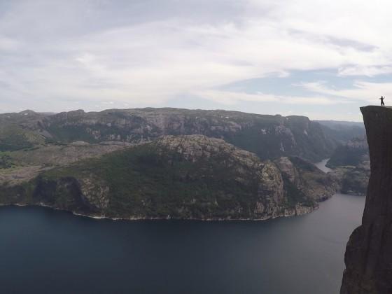 Norwegen 2018 - Preikestolen -2
