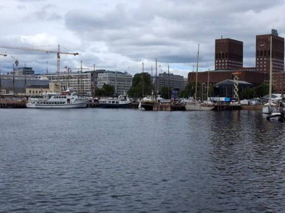 Norwegen 2018 _ Hafen in Oslo