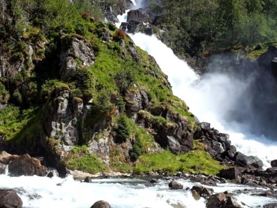 Norwegen 2018 - Wasserfall