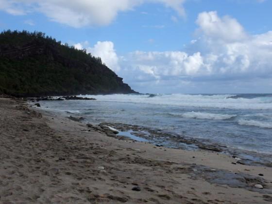 Wellen an der Grande Anse - Reunion
