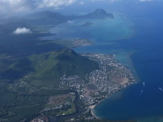 Anflug auf Mauritius 2018