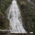 Wasserfall bei São Vicente