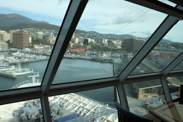 Hobart - mit der Rhapsody of the Seas in Australien unterwegs