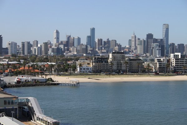 Melbourne - mit der Rhapsody of the Seas in Australien unterwegs