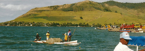 Mauritius - auf dem Wasser