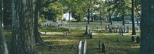 Maine - Alter Friedhof in York 2002